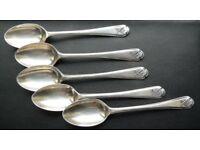 English Silver hallmark London spoon Walker & Hall Golf