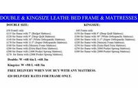 Amazing Offer STANDARD Small Double Single Kingsize Base Bedding