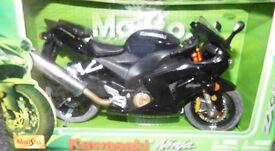 Boxed Kawasaki Ninja Bike