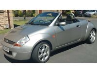 Ford StreetKa 1.6 Luxury Silver Convertible