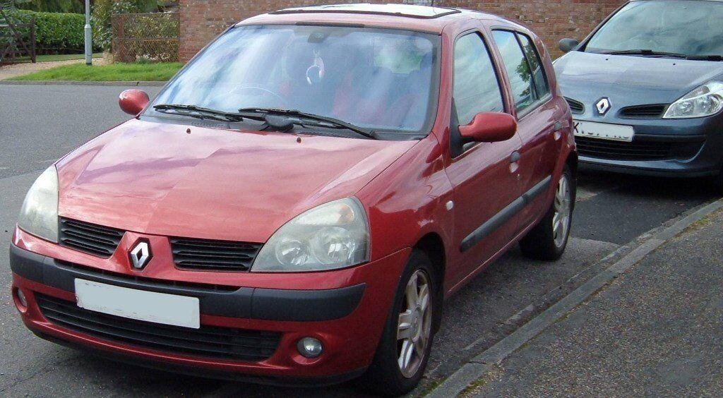 2005 Renault Clio 1.2 manual petrol