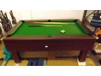 7x4 pool table