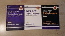 CGP GCSE English Language AQA Grade 9-1 Course Books in good condition