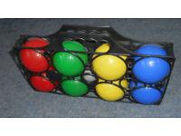 Set of Plastic Boules or Petanque