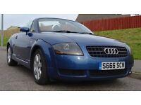 Audi TT Roadster 1800 2003 Blue Convertable