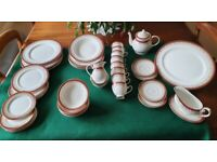 Royal Grafton 'Majestic' Red and Gold Fine Bone China Dinner & Tea Service