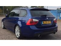 BMW 330D AUTO M SPORT TOURING+FULL HISTORY+10 MONTH MOT+EVERY EXTRA+FULL 335 CONVERSION+*DPF REMOVED