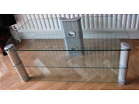 Heavy Duty Glass TV Stand originally purchased from John Lewis