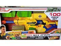 2x X Shot 100 Piece (Similar to Nerf Gun)