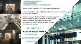 Space to rent & develop