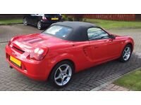 Mk3 Toyota MR2 Roadster 1.8 VVT-i convertible