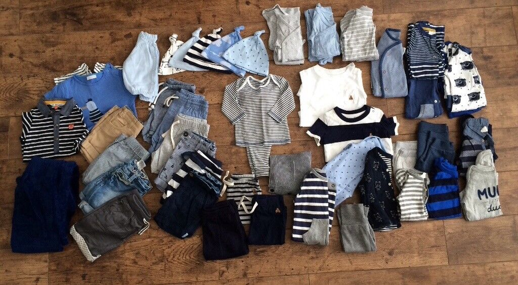 62b41da0eed7 Baby boy - up to 1 year old bundle of clothes   in Mossley Hill ...