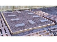 SHED-PREP - GARDEN SHED PREPARATION - Support and protect your shed with a weatherproof foundation