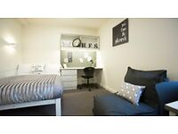 STUDENT ROOMS TO RENT IN ABERDEEN.ENSUITE WITH PRIVATE ROOM,PRIVATE BATHROOM, GYM AND LOUNGE AREA