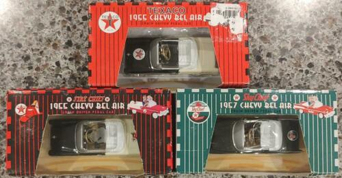 Lot of 3 GEARBOX TEXACO 1955 Chevy Belair Fire Chief 1955 Bel Air Sky Chief 1957