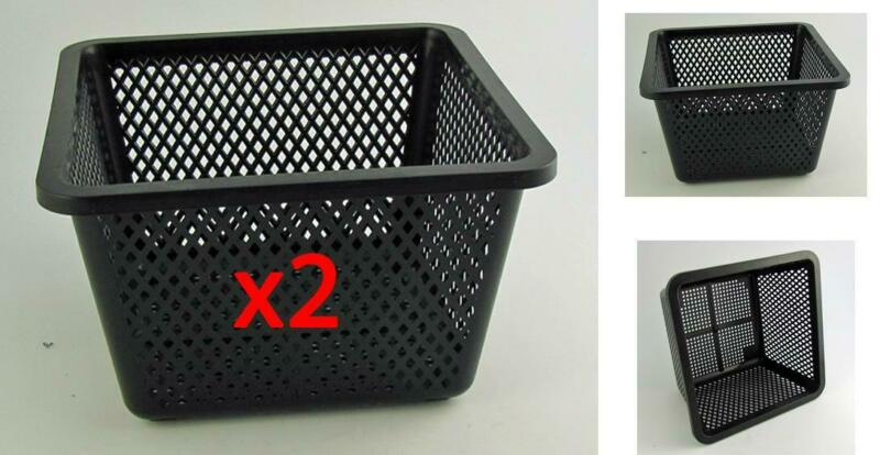 RENA OEM Aquatic Plant Basket (2pk) 10x10x6 high w/feet fine weave FreeShipping