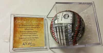 Yankees Stadium Unforgetaballs Final Game Baseball in Ball Cube New Final Game Baseball