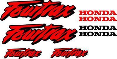 Honda Fourtrax Gas Tank  Decal set stickers moto hrc Set of 8