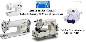 Repair sewing Machines , reparation de machines a coudre