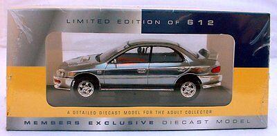 Vanguard Car Exclusive Club Model CHROME Subaru Impreza VA.12104 LCC 34 Ltd. 612
