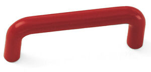 Cabinet Hardware Plastic Wire Drawer Pulls 34838 Red 3
