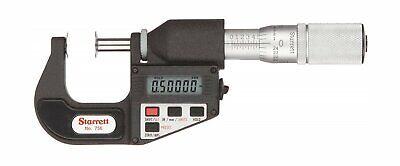 756fl-1 Starrett Disc Micrometer 0-1