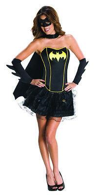 Batgirl Kostüm Korsett Batgirlkostüm für Damen ()