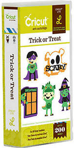 Cricut TRICK or TREAT lite cartridge - $40