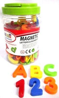 Zahlen 78TLG Plastik Magnete Alphabet Nummern Lernspielzeug (Alphabet Nummer)
