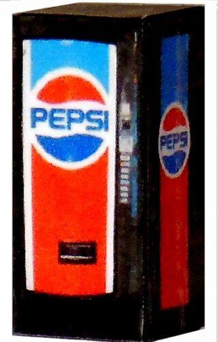 1/32 Scale LIGHTED Vending Machine - Pepsi Machine - Illuminated