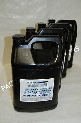 4 Pack 1 Gallon Of Leroi Ssl-38 Partial Synthetic Reciprocating Compressor Oil