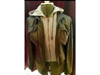 Ladies next leather jacket