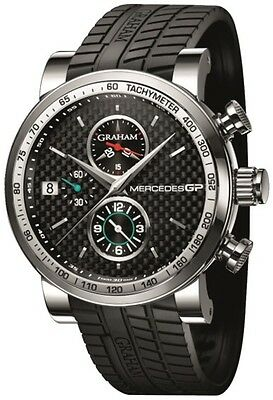 GRAHAM Mercedes GP Trackmaster AUTO Gents Watch 2MEBS.B02A - RRP £4995 - NEW