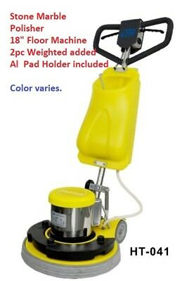 18 Stone Marble Polisher Weighted Floor Machine Scrubber Carpet Cleaning New