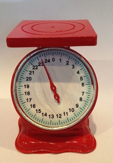 "Lovvbugg Scale for 18"" American Girl Doll Accessory Kitchen Doctor Play"