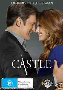 Castle COMPLETE Season 6 : NEW DVD