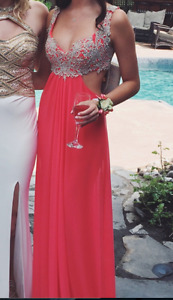 La Femme Prom dress- ONLY WORN ONCE!- Mint condition