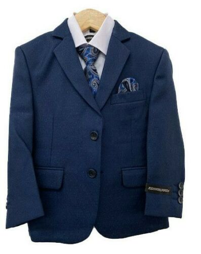Kids World  NEW All Colors & Sizes Fashion Stylish Boys 5 PC Suits