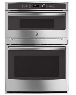 "GE Profile Series 30"" Electric Built In Combination Microwave/Oven -PT7800SHSS"