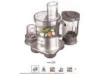KENWOOD FPM260 Multipro Food Processor - Silver (Blender, Chopper, eggs/dough mixer, etc)