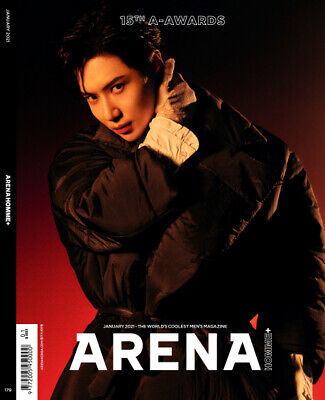 ARENA HOMME SHINEE COVER KOREA MAGAZINE 2021 JAN JANUARY NEW