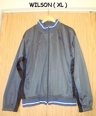 With Tag Wilson Jogging Or Warm Up Jacket Size Xl Lightweight Fabulous