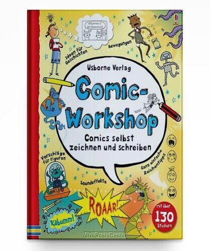 Comic-Workshop von Louie Stowell * Hardcover Neu