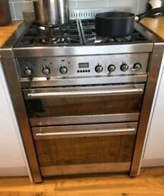 Smeg Dual Fuel Double Cooker Oven