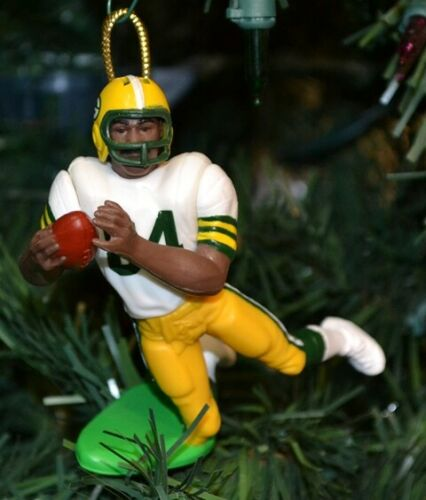 "Sterling Sharpe Green Bay Packer #84 Football Christmas Ornament White Jersey 3"""