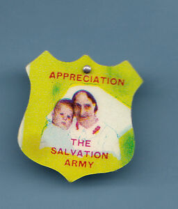 The Salvation Army Celuloide Badge