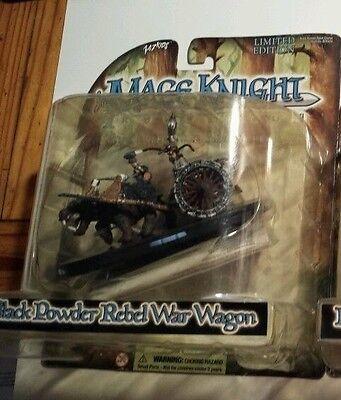 Mage Knight Black Powder Limited Edition Rebel War Wagon New Never Open WizKids