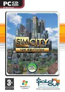 Sim City 3000 UK Edition PC Game CD ROM - New ( SimCity )