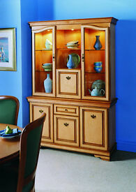 Rossmore by Sherry Solid Maple Display Cabinet
