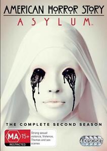 AMERICAN HORROR STORY: ASYLUM TV Series SEASON 2 = NEW R4 DVD